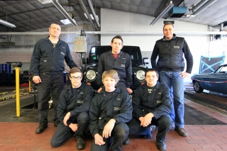 Das Wiesemes Automobile Werkstatt Team
